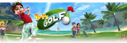 بازی موبایل  Lets Golf به صورت جاوا برای تمامی رزولوشن ها